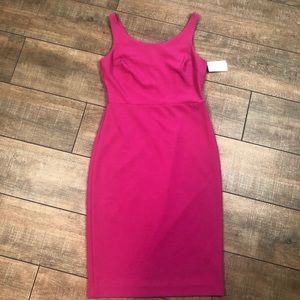 Betsey Johnson pink bodycon dress